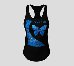 Lovescapes Racerback Top (Creative Life - Freedom 02)