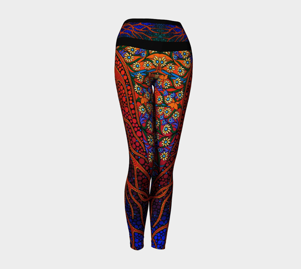 Lovescapes Yoga Leggings (The Gates of Eden 02)