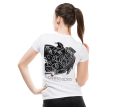 Lovescapes Lady's Tee (In Spirit We are Already There! 01)