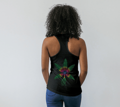 Lovescapes Racerback Top (Angel Feathers 02)