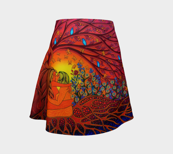 Lovescapes Flare Skirt (Gates of Eden 01)