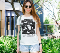 Lovescapes Lady's Tee (Family 02)