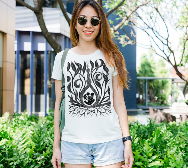 Lovescapes Lady's Tee (Kundalini Love Garden 01)