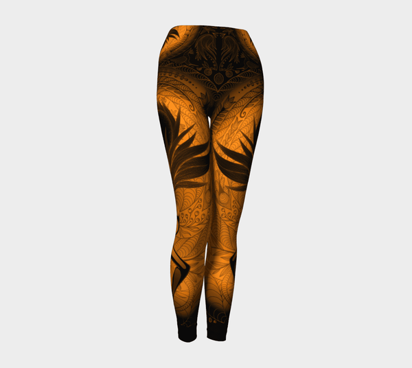 Lovescapes Yoga Leggings (Moonlight Melodies - Light) - Lovescapes Art