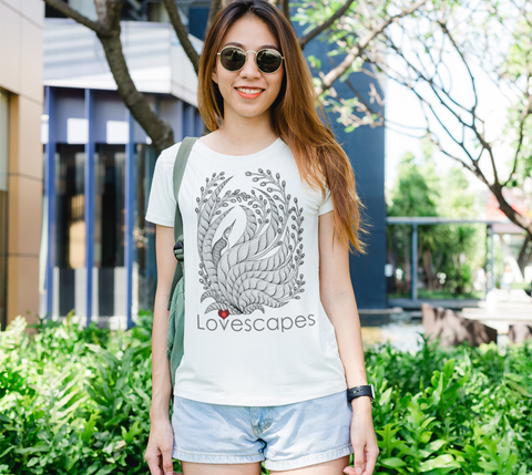Lovescapes Lady's Tee (Solitude 01)