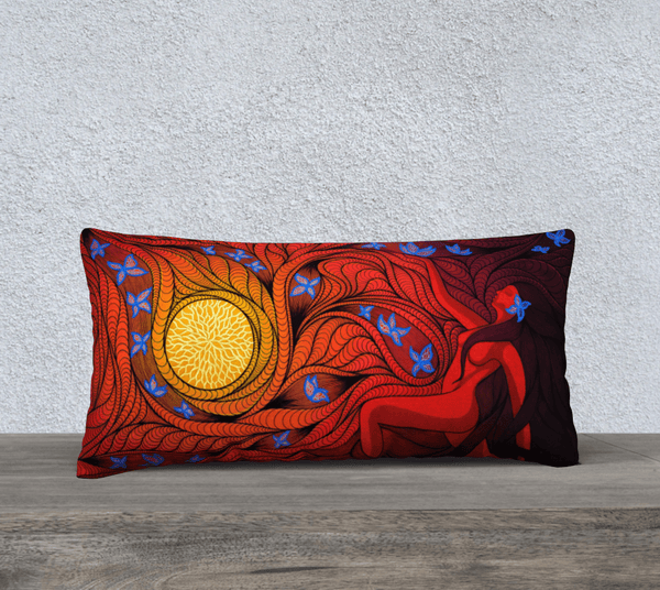Lovescapes Pillow 24' x 12' (Regeneration) - Lovescapes Art