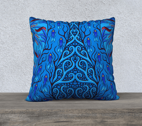 "22""x22"" Pillow Case (Creative Life 10) - Lovescapes Art"