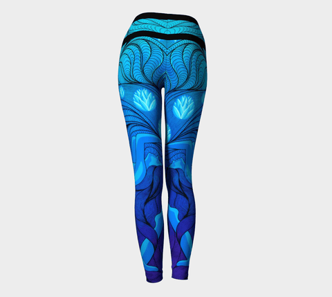 Lovescapes Yoga Leggings (Once Upon a Time) - Lovescapes Art
