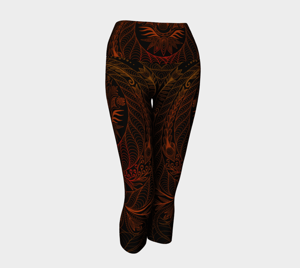 Lovescapes Yoga Capris (Maytime Melodies 04) - Lovescapes Art