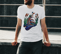 Lovescapes Men's T-Shirt (Loons in Love)