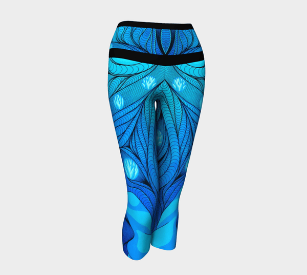 Lovescapes Yoga Capris (Once Upon a Time) - Lovescapes Art