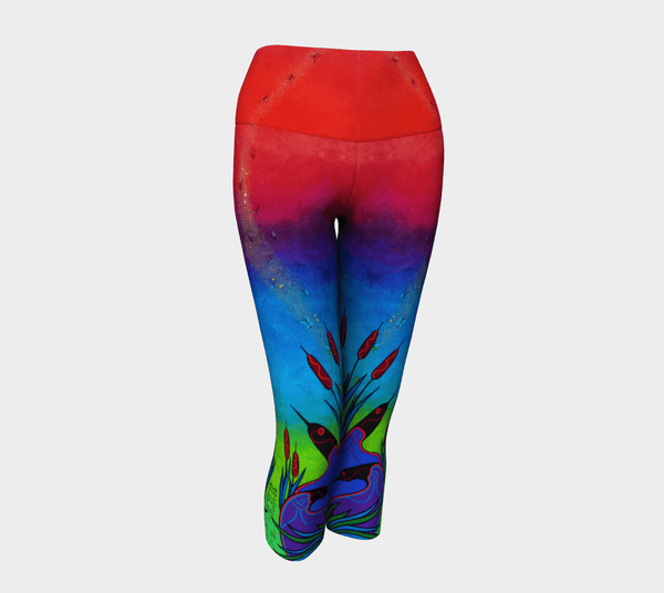 Lovescapes Yoga Capris (Solarium 02)