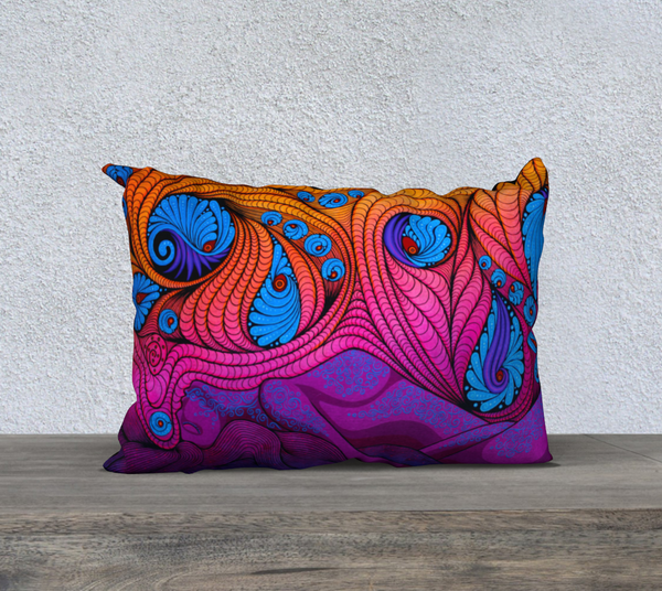 "Lovescapes Pillow 20"" x 14"" (The Goddess in Me) - Lovescapes Art"