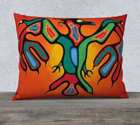 "Lovescapes 26""x20"" Pillow Case (Thunderbird) - Lovescapes Art"