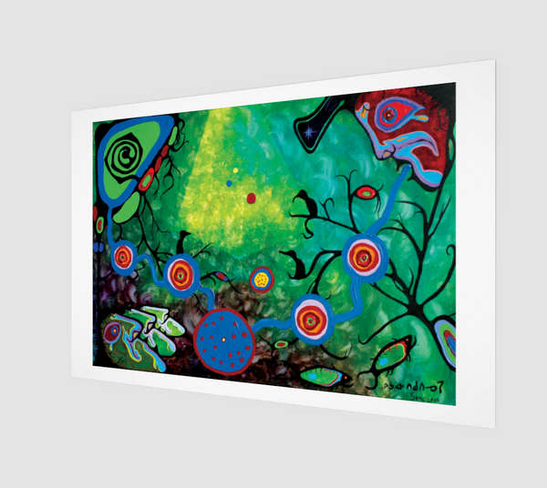 Sounding (Limited Edition Print of 79) Ritchie Sinclair and Norval Morrisseau