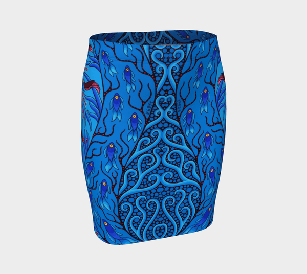 Lovescapes Fitted Skirt (Creative Life 10) - Lovescapes Art