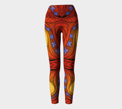Lovescapes Yoga Leggings (Regeneration) - Lovescapes Art