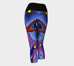 Lovescapes Yoga Capris (Dream Weavers) - Lovescapes Art