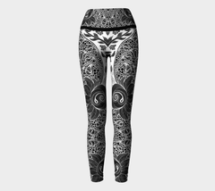 Lovescapes Yoga Leggings (Fertility 02) - Lovescapes Art