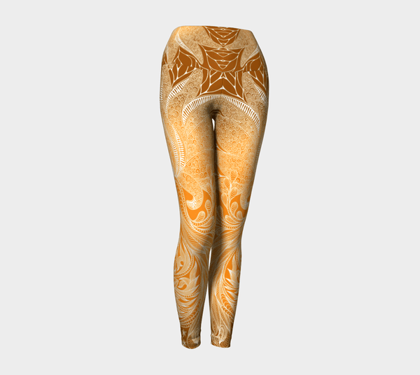 Lovescapes Yoga Leggings (Feminine Flow 02) - Lovescapes Art