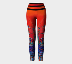 Lovescapes Yoga Leggings (Loons in Love 03) - Lovescapes Art