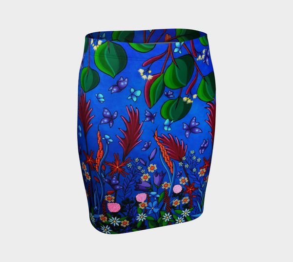 Lovescapes Fitted Skirt (Little Meadow) - Lovescapes Art