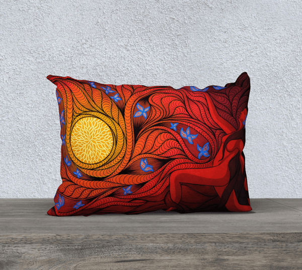 "Lovescapes Pillow 20"" x 14"" (Regeneration) - Lovescapes Art"
