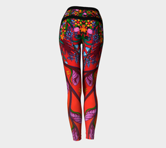 Lovescapes Yoga Leggings (Eternal Summertime)