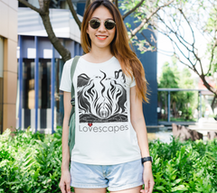 Lovescapes Lady's Tee (Fire Dancers 01)