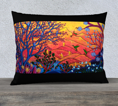 "Lovescapes Pillow 26""x20"" (Heartlands) - Lovescapes Art"