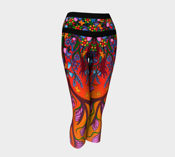 Lovescapes Yoga Capris (Eternal Summertime)