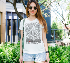 Lovescapes Lady's Tee (Seedling 01)