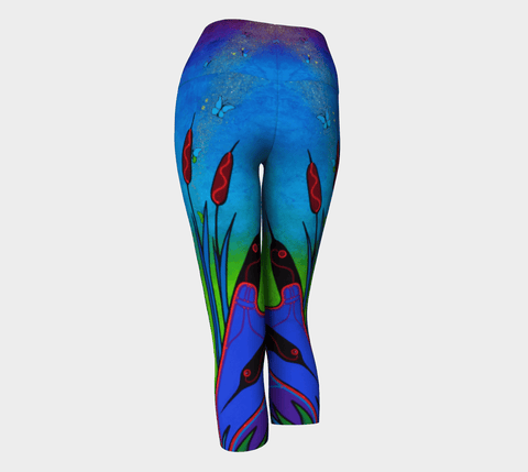 Lovescapes Yoga Capris (Solarium 01) - Lovescapes Art