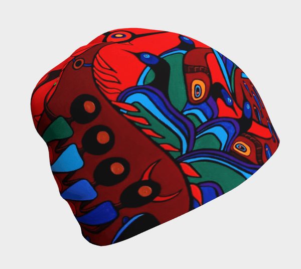 Lovescapes Beanie (Totemic Guardians of the Great Return) - Lovescapes Art