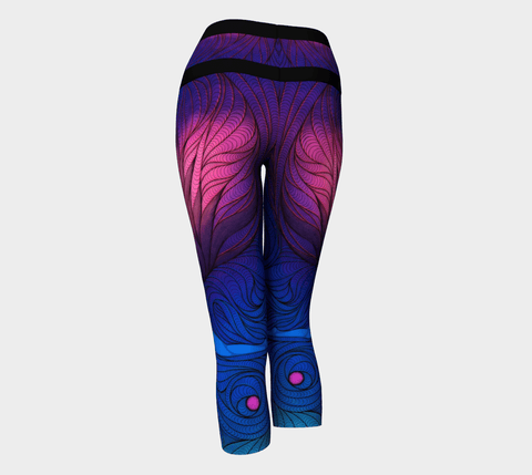 Lovescapes Yoga Capris (Moonlight Sonata) - Lovescapes Art