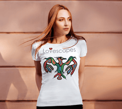 Lovescapes Lady's Tee (Thunderbird 01)