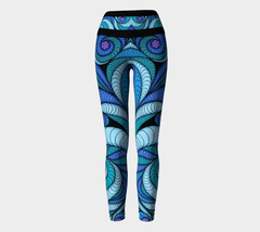 Lovescapes Yoga Leggings (Higher Vibrations) - Lovescapes Art
