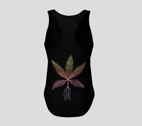 Lovescapes Racerback Top (Angel Feathers 01)