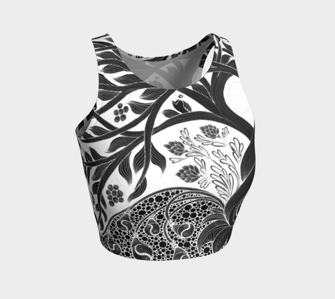 Lovescapes Athletic Crop Top (Fertility 01) - Lovescapes Art