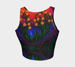 Lovescapes Athletic Crop Top (Seedling 02) - Lovescapes Art