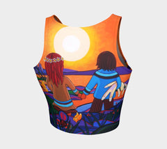 Lovescapes Athletic Crop Top (The Promise) - Lovescapes Art