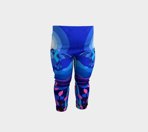 Lovescapes Leggings for Little Ones (Dancing in the Moonlight)
