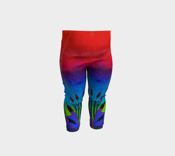 Lovescapes Leggings for Little Ones (Solarium) - Lovescapes Art