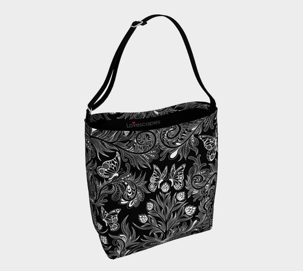 Lovescapes Tote Bag (Butterfly Garden)