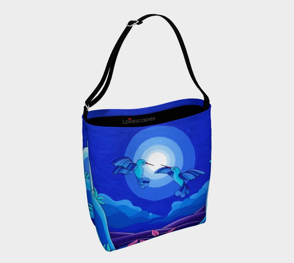 Lovescapes Tote Bag (Dancing in the Moonlight)