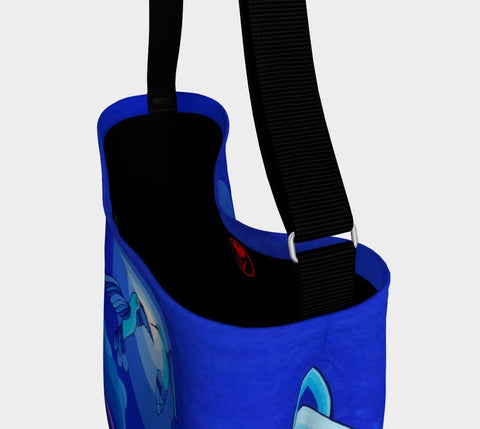 Lovescapes Gym Bag (Dancing in the Moonlight) - Lovescapes Art