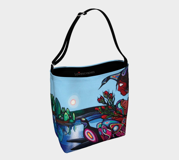 Lovescapes Tote Bag (Mothering Earth)