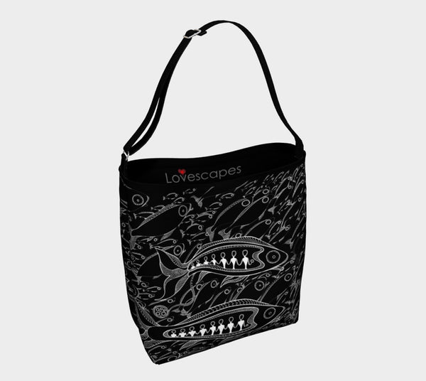 Lovescapes Tote Bag (Rush Hour)