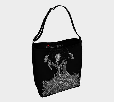 Lovescapes Tote Bag (Nature's Glory B&W)