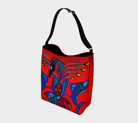 Lovescapes Tote Bag (Totemic Guardians of the Great Return)